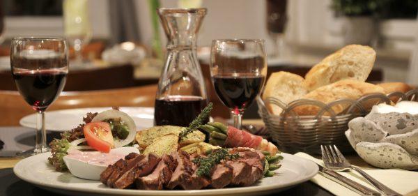 Entenbrust Restaurant Schmuggelbud Überherrn Speisekarte