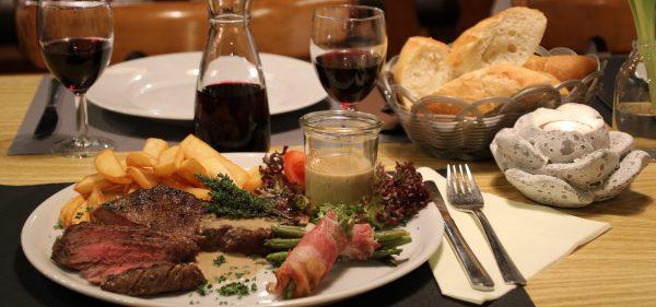 Rumpsteak Gänsestopfleber Restaurant Schmuggelbud Überherrn Speisekarte