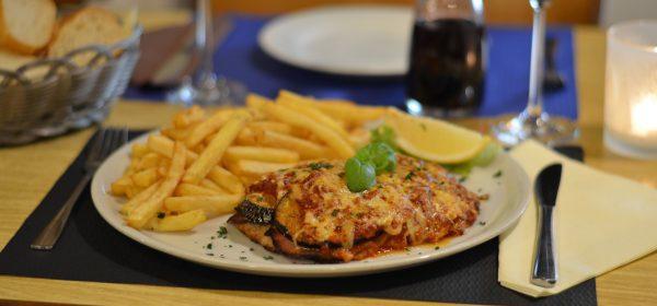 Schnitzel Alla Parmigiana Restaurant Schmuggelbud Überherrn Speisekarte